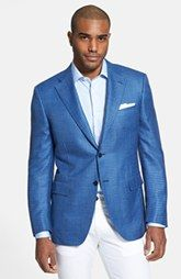 Canali Classic Fit Check Sportcoat available at Nordstrom.