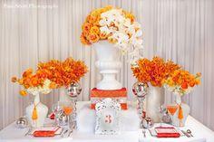 Orange and white love!!!