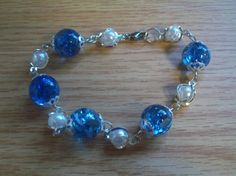 Cracked Marble Bracelet by DioncePoet2000 on Etsy,