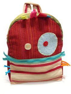 Buddo Zaino #monster #ibuddidimatilde #backpack