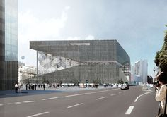 OMA . Axel Springer . Berlin (1) #arquitectura #oma #rem koolhaas
