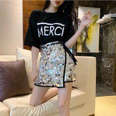 Kpop Fashion Outfits, Girls Fashion Clothes, Cute Fashion, Asian Fashion, Skirt Fashion, Girl Outfits, Cute Skirt Outfits, Cute Casual Outfits, Stylish Outfits