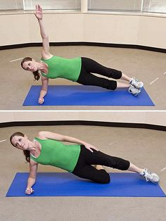 Side Planks Exercises for Strong, Gorgeous Abs -- No Crunches Necessary
