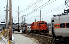 """The Chicago South Shore and South Bend railroad - aka the """"vomit comet"""" - NW Indiana's #1 way to Chicago"""