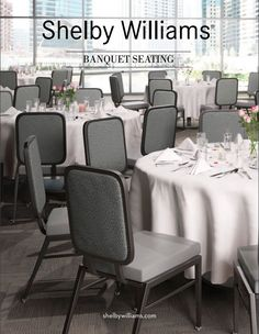 Learn about the custom features and finishes that can be applied to our new banquet chairs in our new banquet seating brochure.