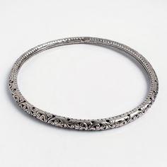 Colier statement Uttar, argint, India #metaphora #silverjewelry #silverjewellery #necklace #india #statement