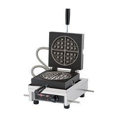 Krampouz WECCCCAS Stainless Steel Frame Single Waffle Irons