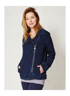 067ea016702c9b ... ○ BRAINTREE ○ Organic cotton fleece denim jacket, company committed to  creating thoughtful clothing that's sustainably sourced, ethically  produced, ...