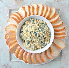 Spinach Dip From Scratch | Serena Bakes Simply From Scratch #Recipe #SpinachDip