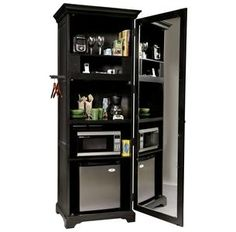 Suite Mate - a kitchenette in a cabinet for guest room. Has space for a  sc 1 st  Pinterest & 21 best The Best Compact Refrigerator images on Pinterest | Compact ...