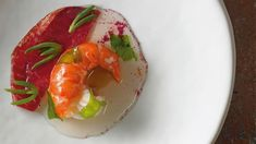 Marron, cured beef and wild sea flora