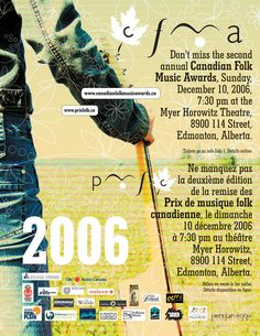 Design and development for culture. Folk Music, Music Awards, Culture, Advertising Ads, Canadian Horse, Folk