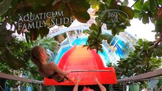 Aquaticum Family Slide 360° VR POV Onirde Vr, Make It Yourself