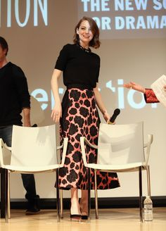 This Skirt! Anyone know the designer? Photo: Robin Marchant/Getty Images