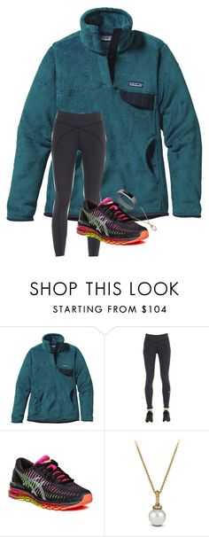 """""""starting a tag list comment """"🐨"""" to be added!"""" by blonde-prepster ❤ liked on Polyvore featuring Patagonia, prAna, Asics, David Yurman and Fitbit"""