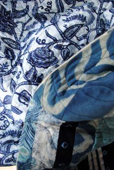 blue tones quilt