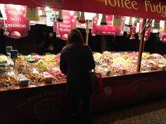 . Manchester Christmas Markets, Fudge, British