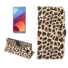 >> Click to Buy << For LG G6 flip Case Leopard grain pattern pu Leather cover Wallet Phone Bag shell for LG G 6 cover stand with Card Slot case #Affiliate