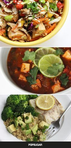 Make dinner your lightest meal of the day with these 30 healthy recipes. Each has less than 400 calories per serving.