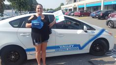 Congratulations on passing your road test, Lisa! 🚙🚙 #ipassed #drivewithvalley #valleydrivingschool