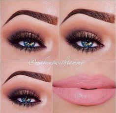 Too Faced Cosmetics Chocolate Bar palette: Lip Liner: Mac - Subculture Pretty Makeup, Love Makeup, Beauty Makeup, Makeup Looks, Hair Makeup, Perfect Makeup, Hair Beauty, Sexy Make-up, Chocolate Bar Palette
