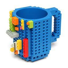 aanll blocks mug build on brick block coffee tea beverage mug cup creative funny mug coofee cupbpafree 12oz blocks coffee cup comes with buildon