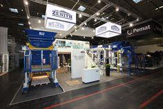 Zenith Maschinenfabrik GmbH Referenzbeispiel zur Bauma, München 190,5m²