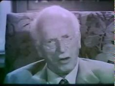 """Iconic Psychiatrist Carl Jung on Human Personality in Rare BBC Interview-""""the sole purpose of human existence is to kindle a light in the darkness of mere being."""" -article+video http://www.brainpickings.org/index.php/2013/07/26/carl-jung-bbc-face-to-face/"""
