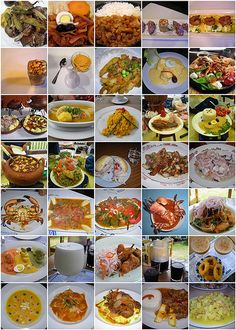 A collection of dishes from Lima, #Peru.