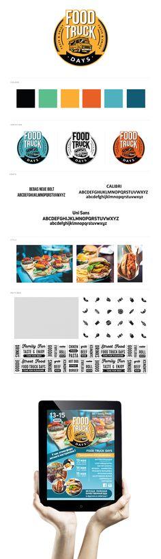 Food Truck Days_ Festival Logo on Behance