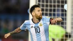 Messi overcome the fear of not qualifying for Russia 2018 with a hattrick