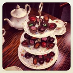 High Tea with Nakamura Chocolates