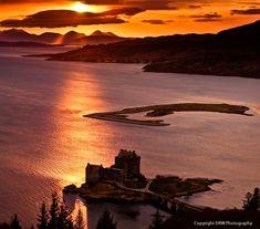 Skye sunset by DRWPhotography #ErnstStrasser #Schottland #Scotland