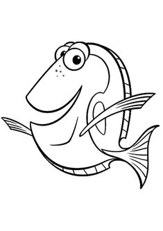 find this pin and more on digi stamps and downloadable pics free printable nemo coloring pages - Finding Nemo Characters Coloring Pages