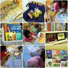 Things to think of when preparing & creating your child's reading space