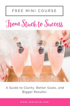 goal setting, success, clarity, results