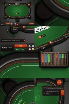 Poker Table by sencerbugrahan