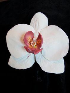 moth orchid sugar flowers edible gum paste by SweetpeaSugarArt