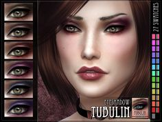 Tubulin Eyeshadow for The Sims 4  Found in TSR Category 'Sims 4 Female Eyeshadow'