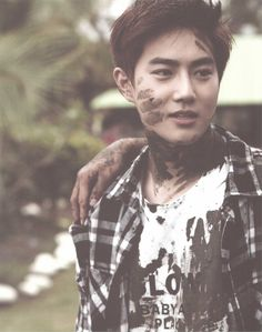 SCAN #Suho #EXO Dear Happiness #Photobook