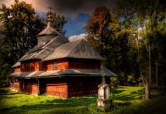 Wooden church in Hoszowie Credit: Marian Stanislawski (Click to Support Artist)