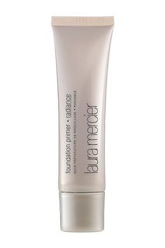 """Luminizing Primer. Pro favorite: Surratt recommends Laura Mercier's Radiance Foundation Primer. """"It gives an added dewiness and light reflection to the skin,"""" he says. #refinery29"""