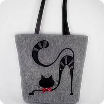 ru / Фото - BAGS (СУМКИ) - renew na Stylowi. Diy Fashion, Diy And Crafts, Reusable Tote Bags, Etsy, Handbags, My Favorite Things, Cat, Tutorials, Drawing