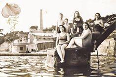 Bir zamanlar Istanbul ve plajlari - BUYUKADA DEGIRMEN PLAJI -