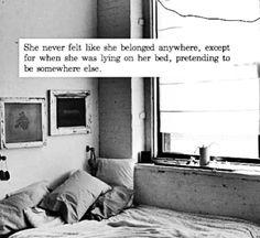 She feels