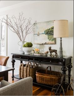 spotted! Dunes and Duchess Single Spindle Lamp in a design by Jill Goldberg.