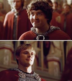 That awkward moment when you knight the man who's going to kill you.