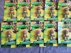 Lot of 10 Teenage Mutant Ninja Turtles Puzzle Erasers Party Favors    Home & Garden, Greeting Cards & Party Supply, Party Supplies   eBay!
