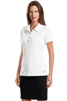 358f6992 Nike Golf - Elite Series Ladies Dri-FIT Ottoman Bonded Polo. 429461