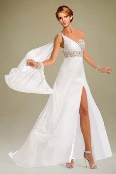 Robe du soir blanche